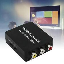 HDMI Converter HDMI to AV + AUDIO Support SPDIF Coaxial Audio NTES PAL CVES DG
