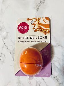 NEW Limited Edition Eos DULCE DE LECHE Super Soft Shea Lip Balm