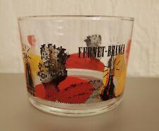 Fernet Branca Queen Amaro Low Ball Milan Fratelli Italian Italy Liqueur Glass