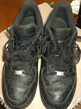 the latest 1bf6b cb3ef Air Force 1 Low Nike Af1 All Black Triple BlackMns sz US 9