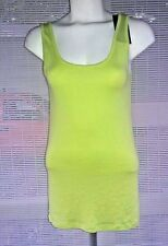 Women's NWT Mossimo Supply Co Tank Top Indian Lime Size L Tank