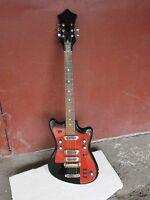 Electric Guitar  SOLO-2 254 BL Soviet Vintage Electric Guitar USSR