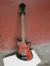 Electric Guitar  SOLO-2 254 BL Soviet Vintage Electric Guitar USSR