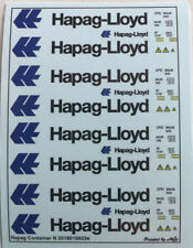 Hapag Container Decals 1:160 oder Spur N