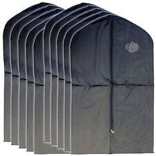 """New 15 PCS Garment Bag for suit dress black 40 """" transparent window"""