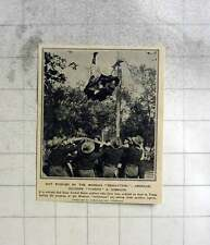 1911 American Soldiers Tossing A Comrade During Mexican Revolution
