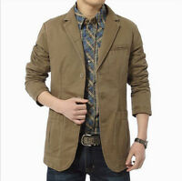 NEW Stylish  Men's Slim Fit Suit Business Casual Blazer Coat Jacket
