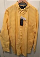 Tommy Hilfiger Men's Long Sleeve Custom Fit Oxford Button-Down Shirt Size XXL