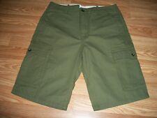 Levi's Men's Ace Cargo Ivy Green Twill Shorts 29 30 34 NWT $50