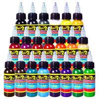 Solong Tattoo Ink 21 Colors Set 1oz 30ml/Bottle Tattoo Pigment Kit