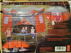 PROPEL 12ft Trampoline Club house Enclosure Net For Round Trampoline - OPEN BOX