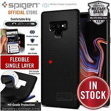 Original Spigen Protective Cover for Galaxy Note 9 Liquid Air Cover Vase Black