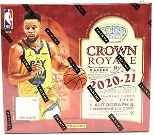 NBA 2020-21 Panini Crown Royale Hobby Box Break - (1) Random Team  *Read Below*