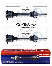 Pair of Front CV Axle Shafts fits Toyota T100 1993-1998 4WD SurTrack Set