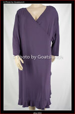Silhouettes (US Plus Size Designer) Elegant Dress Size 30 (6X) New With Tags