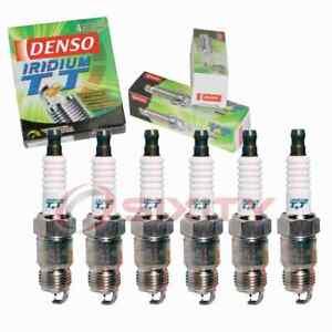 6 pc Denso Iridium TT Spark Plugs for 1982-1993 Pontiac Firebird 2.8L 3.4L gq