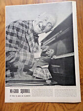 1950 Article AdNo Good Squirrel as a Pianist Movie Star Jimmy Durante