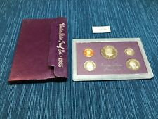 1985 Us Proof Set in Original Box and Holder - 5 Coins - San Francisco Mint