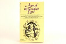 Good! Anne of the Thousand Days: by Edward Fenton (1970 1st Printing PB)