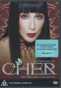 CHER The Very Best Of - Video Hits Collection DVD (2004) R4 / PAL *AS NEW