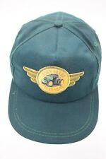 Vintage JOHN DEERE Strapback Strap Back Baseball Golf Hat Green K Products