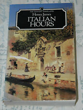 ITALIAN HOURS - HenryJames -p/b, 1986 Illustrated
