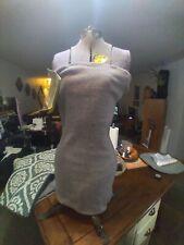 Antique Vintage Acme Adjustable L&M Dress Form w Stand Mannequin Size Jr Junior