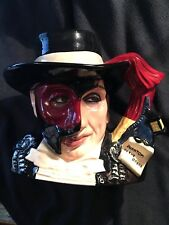Royal Doulton Large Toby Jug -Phantom of the Opera D7017 - HAND SIGNED BY ARTIST