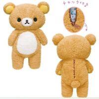 2019 Hot Brown Rilakkuma Relax Bear Pillow Plush Cute Toy Doll Kids Gifts 50cm