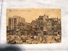 Cartolina Fotografia Filatelia Collezionismo La Panne Belgio