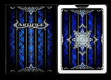 V005-2 New Rare Ellusionist Artifice Playing Cards V2 Cobalt Blue Bicycle Deck