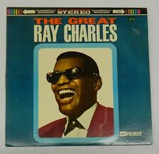 THE GREAT RAY CHARLES - Premier PS 2004 Vintage Vinyl LP Record