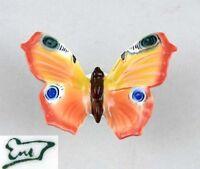 9941026 Porzellan Figur Schmetterling ENS Thüringen H10cm