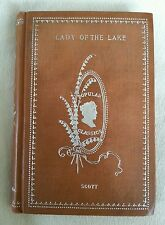 Lady of the Lake Sir Walter Scott Rodgers Co Antique Victorian Classic