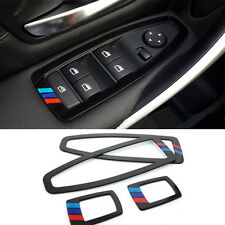 Black Interior Window Lift Switch Cover Molding Trim Bezel For BMW 1 Series F20
