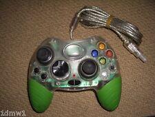 MICROSOFT XBOX Controlador Gamepad Control Game Pad en claro y verde