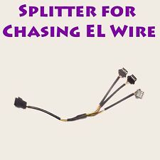 3 Way Splitter for CHASING EL Wire