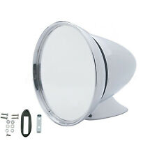 """4.5"""" Bullet Race Sports Car GT Racing Deluxe Chrome Side View Mirror Hot Rat Rod"""