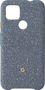 OFFICIAL GENUINE GOOGLE PIXEL 4A 5G FABRIC CASE COVER - BLUE CONFETTI