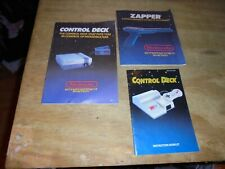 NES Nintendo Entertainment System Console Instruction Manual Booklet zapper