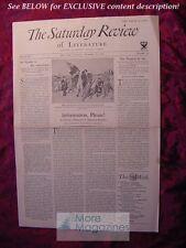 SATURDAY REVIEW December 29 1934 Katharine Fullerton Gerould Leonard Bacon