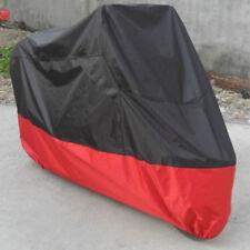 Telo copri moto scooter motorino 265x105x125cm impermeabile nero rosso XXL