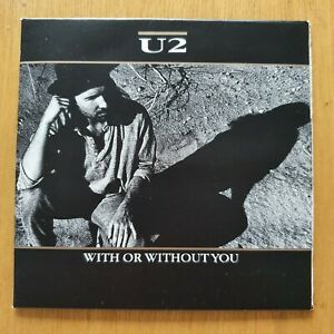 U2 With Or Without You wallet gatefold cd rare NM/NM.