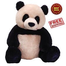 Giant Panda Teddy Bear Soft Huge Black White Stuffed Animal Gift Huggable Plush