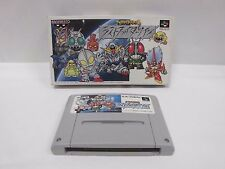 GREAT BATTLE 2 LAST FIGHTER TWIN -- Boxed. Super famicom SNES. Japan game. 12042