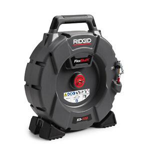 RIDGID K9-102 (64263) FlexShaft Drain Cleaning Machine with 50' Cable