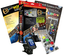 CHORD BUDDY Guitar Learning System Teaching Practice Worship Edition Tuner Combo