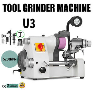 U3 Universal Cutter Grinder Sharpener Multi-func Sharpening 3 Attachments 220V