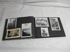 Old Vtg 1950s-1960s B&W Color PHOTOGRAPHS Family Scrapbook Photo Album 100+pics