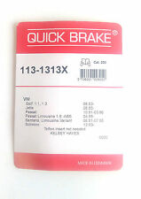 QUICK BRAKE 113-1313x Kit pour PLAQUETTES DE FREIN ATE , KELSEY HAYES